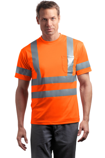 Short Sleeve Snag-Resistant Reflective T-Shirt